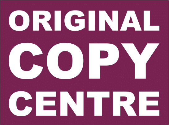 Original Copy Centre - An OPS Site